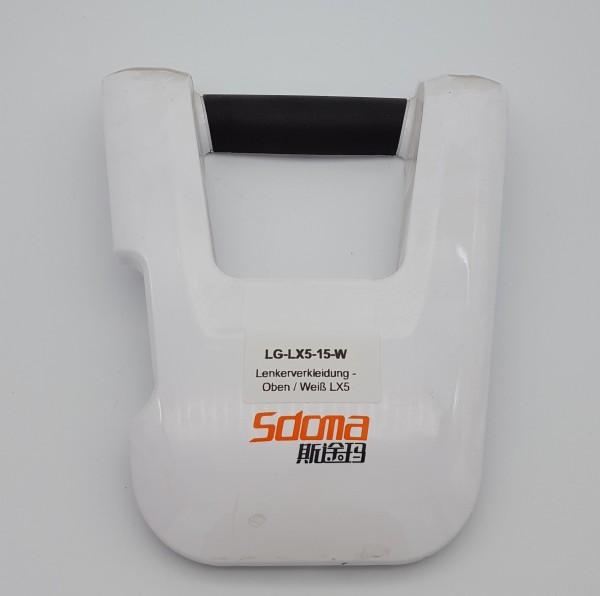 Lenkerverkleidung - Oben / Weiß für LG LX5