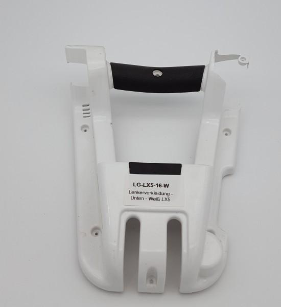 Lenkerverkleidung - Unten - Weiß LG LX5