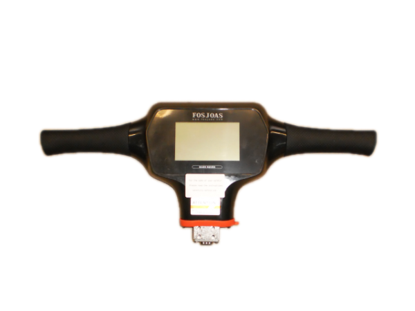 Lenker mit LED - Display kpl. schwarz für V9