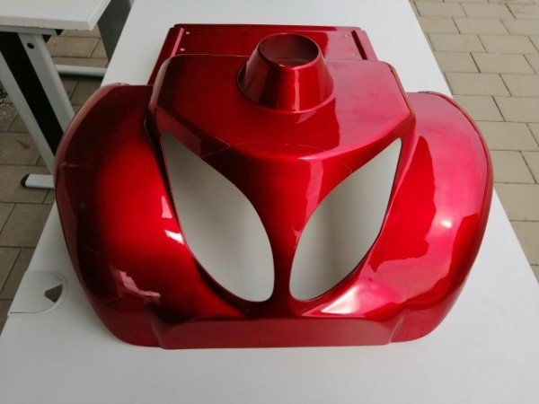 Frontabdeckhaube, rot für LG 4028
