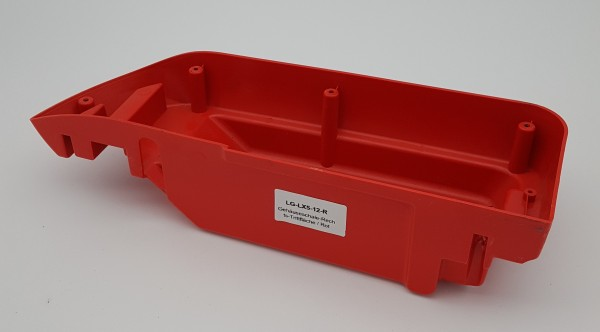 Gehäuseschale-Rechts-Trittfläche / Rot für LG LX5