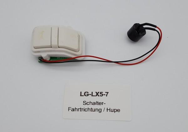Schalter- Fahrtrichtung / Hupe für LG LX5