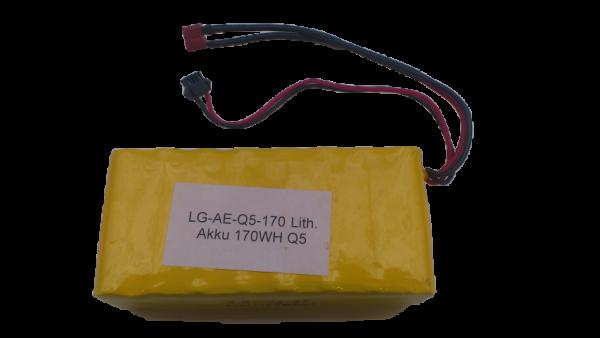 Lithium Akku 170 Wh. für Q1/ Q3 / Q5