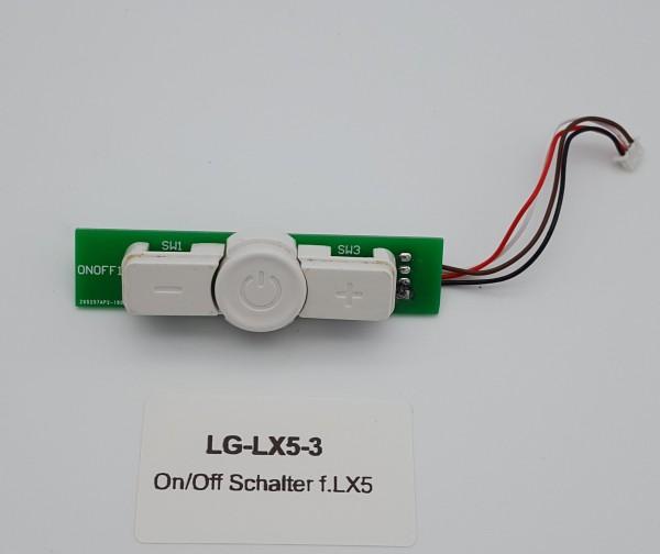On/Off Schalter für LG LX5