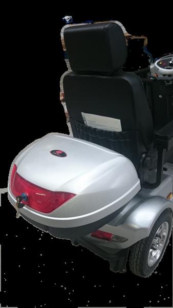 Topcase Heckbox 50 Liter für Elektromobile