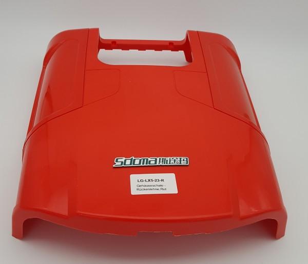 Gehäuseschale - Rückenlehne - Rot für LG LX 5