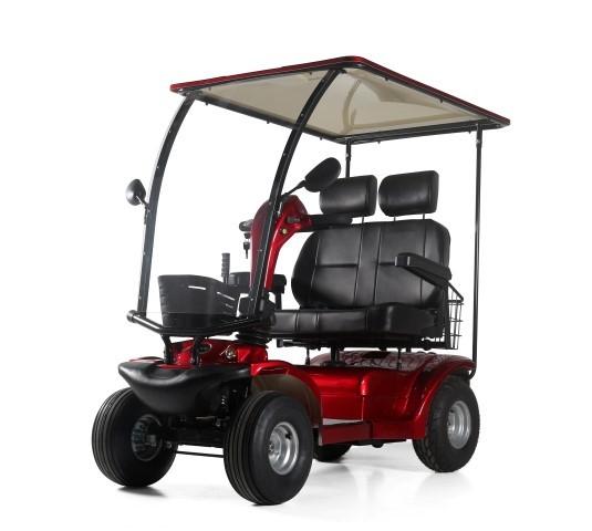 LG 4031B mit Dach Seniorenmobil / Krankenfahrstuhl / Elektromobil / Scooter