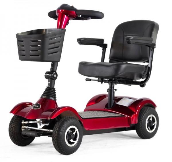 LG Elektromobil 4023N Seniorenmobil Elektro - Scooter 6 KM/H Rot
