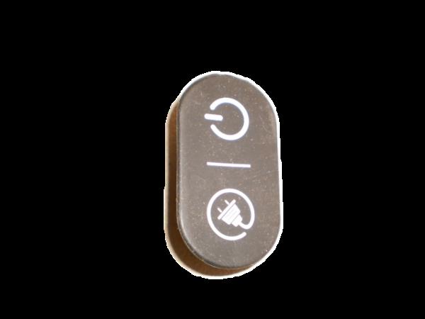 Abdeckung - Ladebuchse, schwarz für V9/ U3