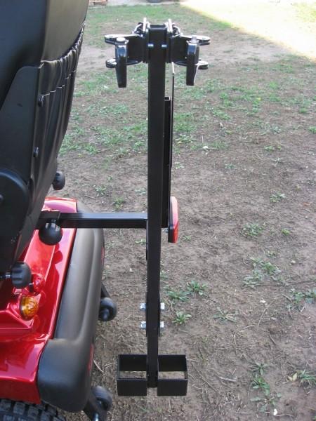 Gehstockhalter - Kombi mit Schnellspanner für Elektromobile
