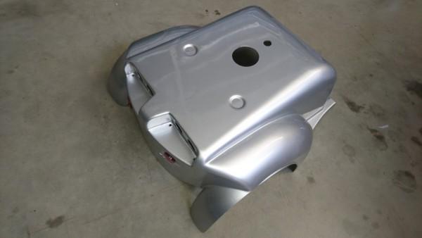 Gehäuseabdeckung, hinten, silber für LG 4028