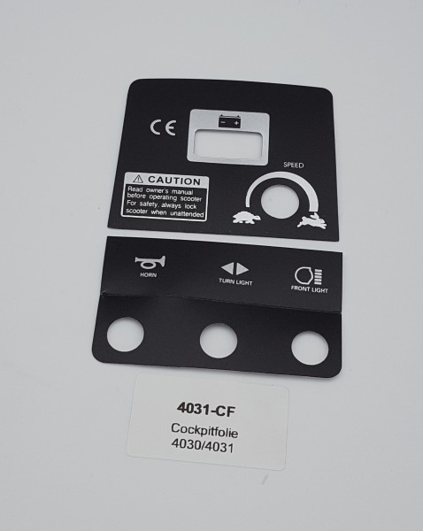 Cockpitfolie für LG 4030 / LG 4031 / LG 4031B