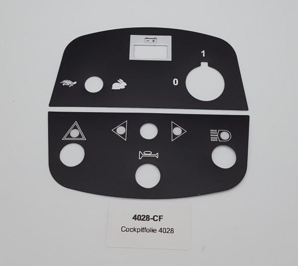 Cockpitfolie für LG 4028
