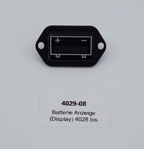Batterie-Ladeanzeige für alle LG-Scooter Modelle.